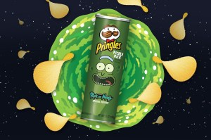 Pickle Rick Pringles Rick and Morty