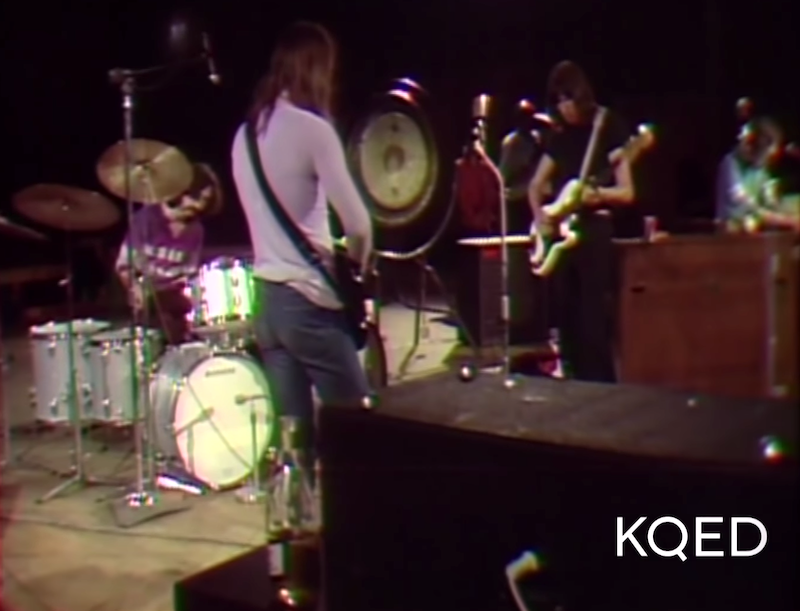Pink Floyd Performs 'Astronomy Domine' for KQED in 1970 to an Empty Fillmore Auditorium in San Francisco