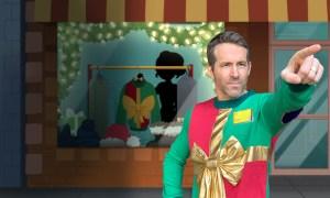 Ryan Reynolds Sick Kids Foundation Bow Sweater