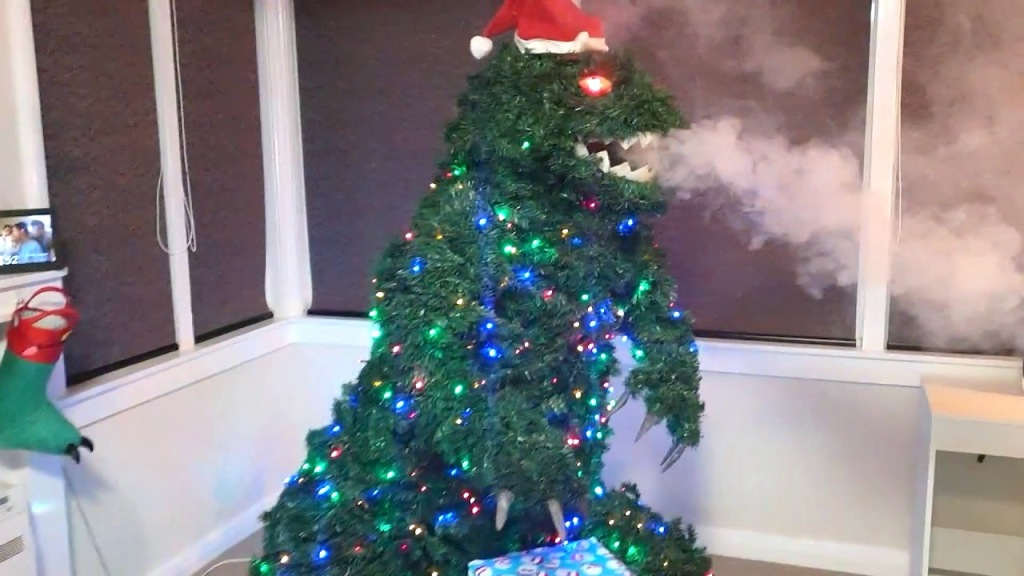 Smoke Breathing Godzilla Tree