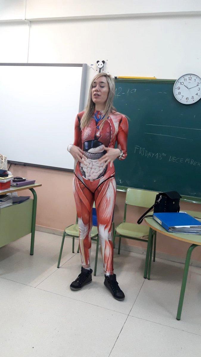 Teacher Anatomical Bodysuit