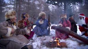 The Altai band Mongolian Jingle Bells