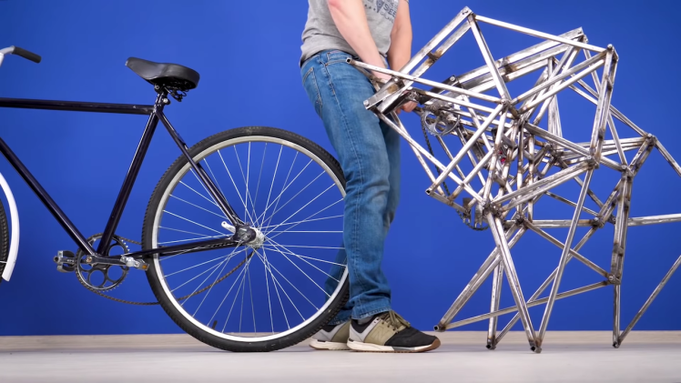 Walking Bicycle Attachment