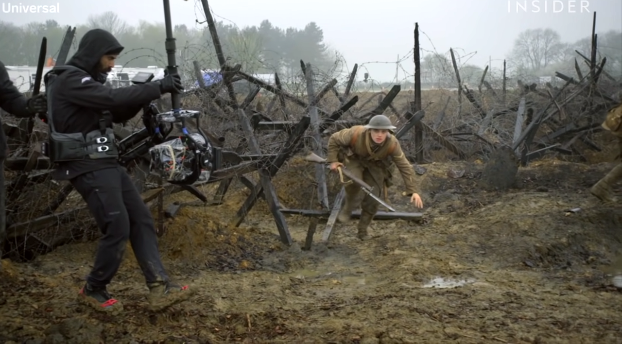 '1917' Cinematographer Explains How They Made the Film Appear to Be a Long, Continuous Single Shot