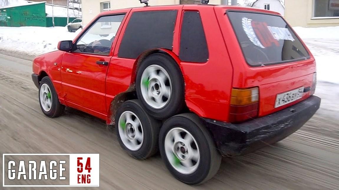 8 Wheeled Fiat
