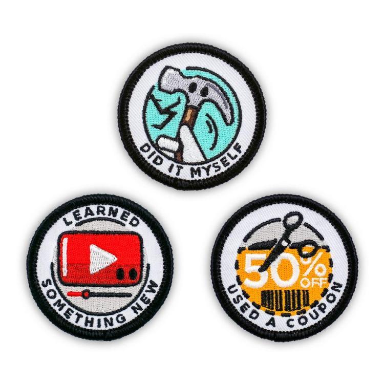 Adulting Merit Badges Achievements