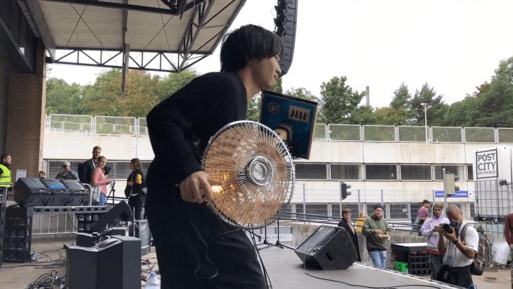 Electric Fan Harp Electronicos Fantasticos