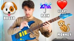 Emojis on Guitar