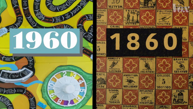 Game of Life 1860 1960