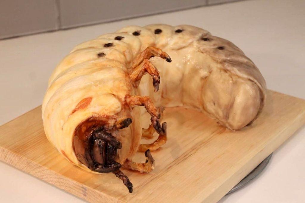 Hercules Beetle Grub Cake