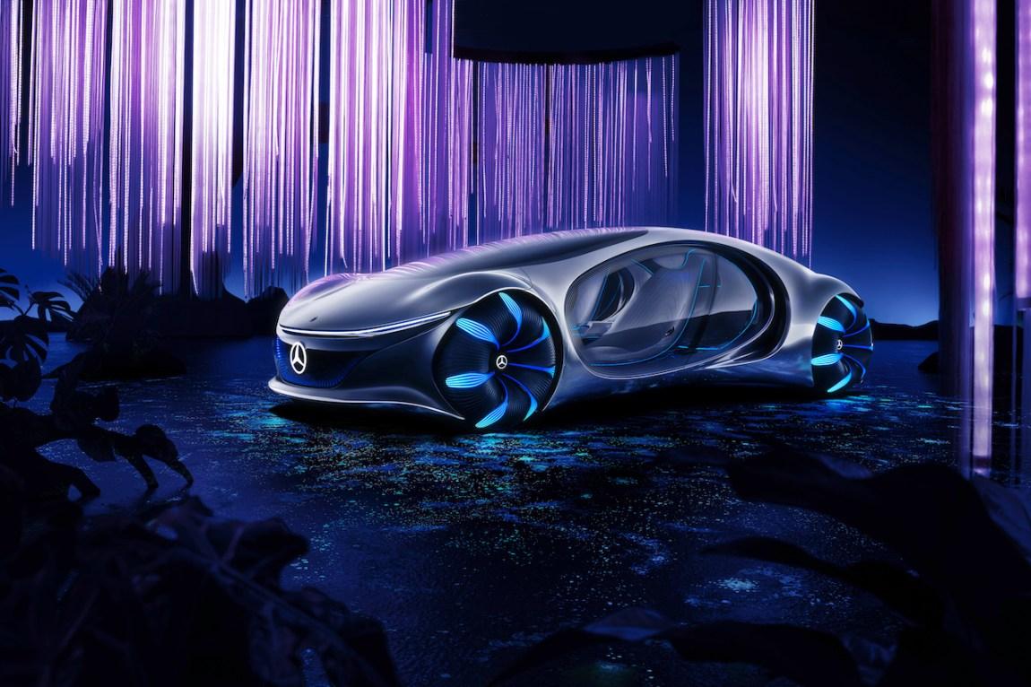 Mercedes AVTR Front