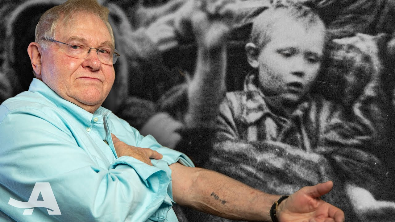 Child Survivor of the Auschwitz Concentration Camp Shares a Message of Hope for Future Generations