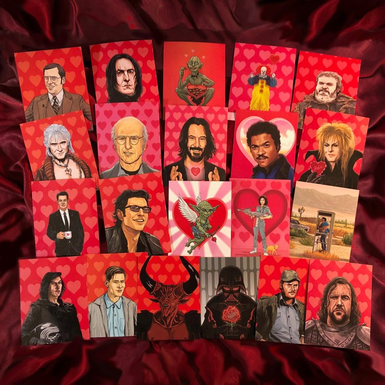 PJ McQuaid 21 Geektastic VDay Cards