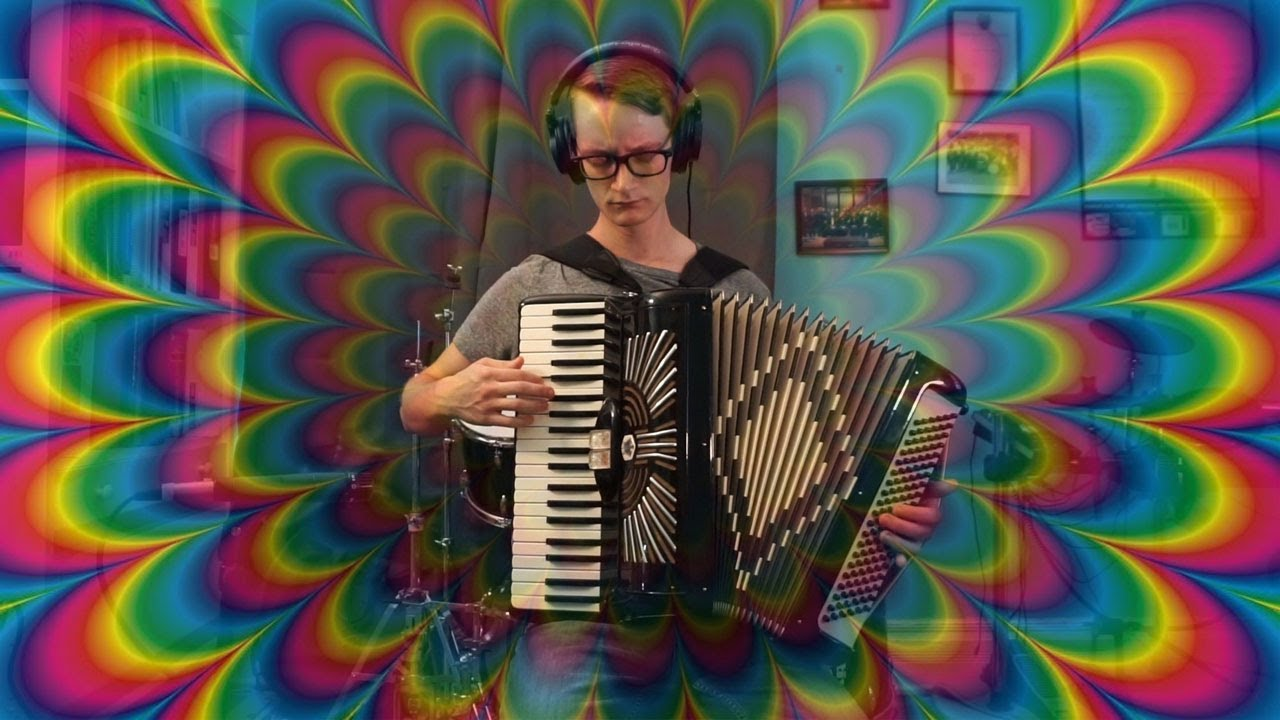 An Original Psychedelic Song Performed on Accordion