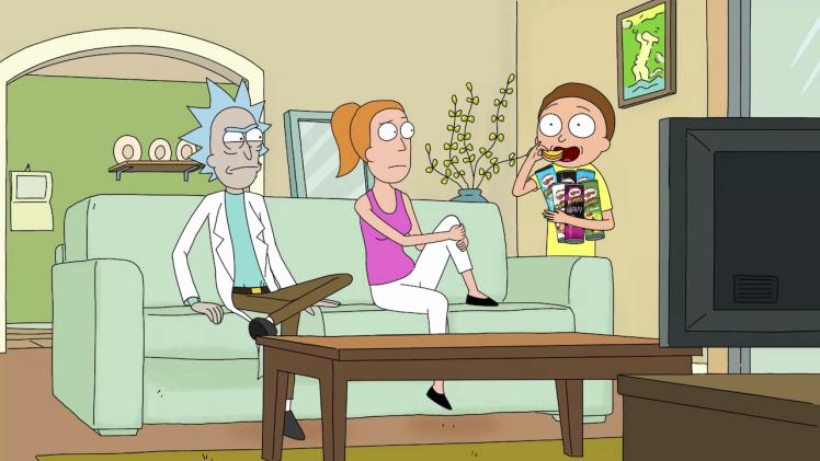 Rick and Morty x Pringles