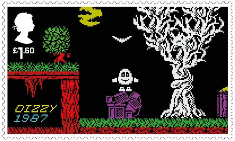 Royal Mail Stamps Dizzy
