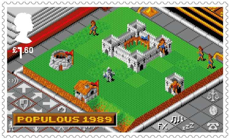 Royal Mail Stamps Populous