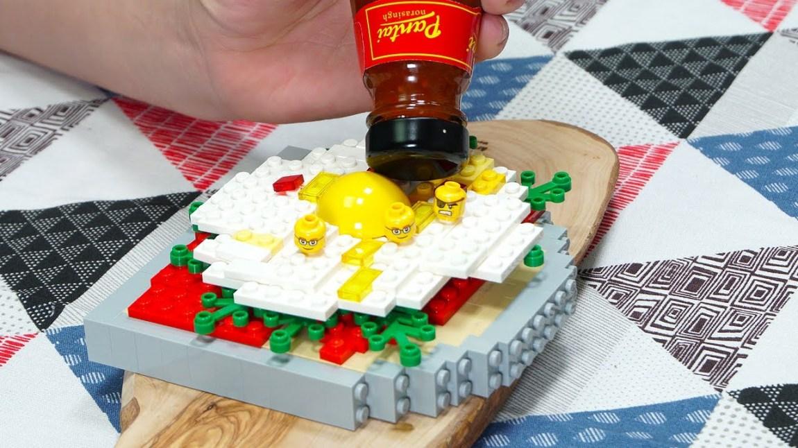 Stop Motion LEGO Sandwich