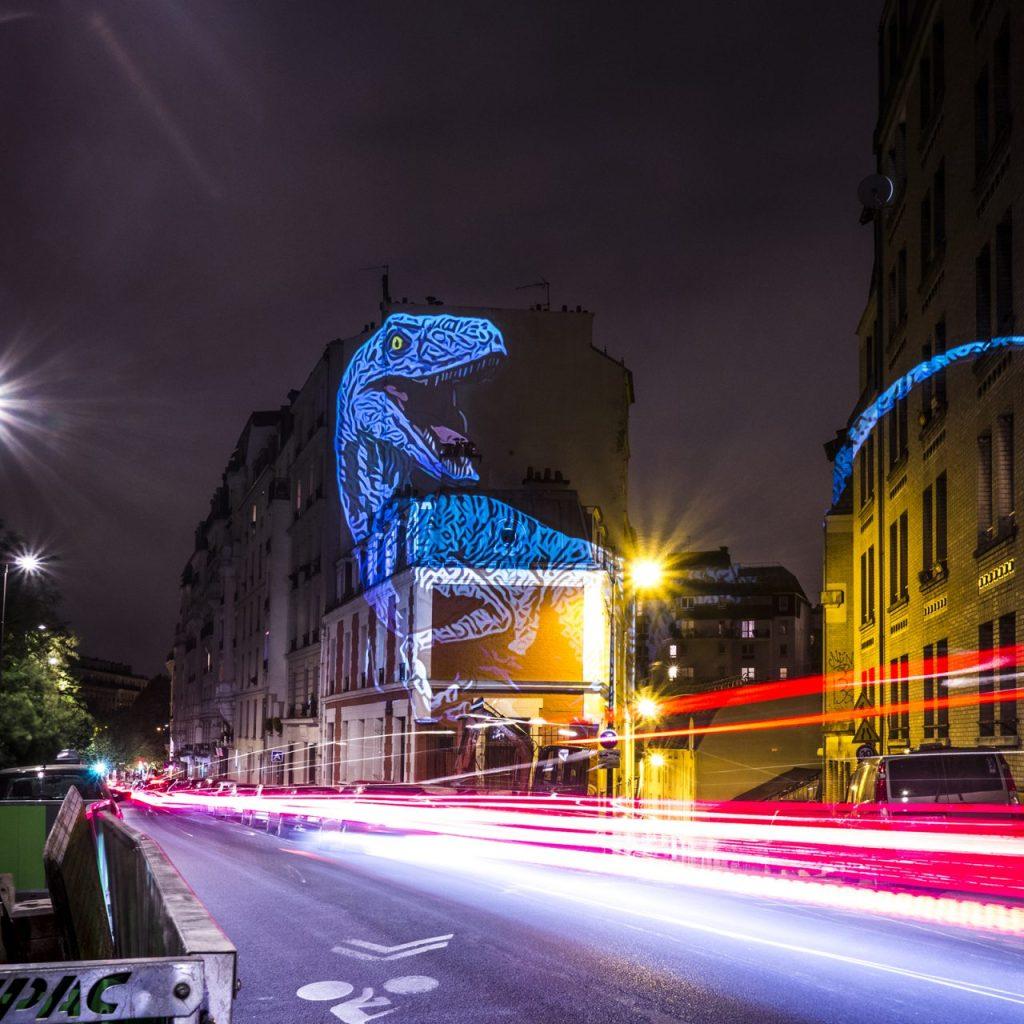 The Blue Raptor Prehistoric Safari