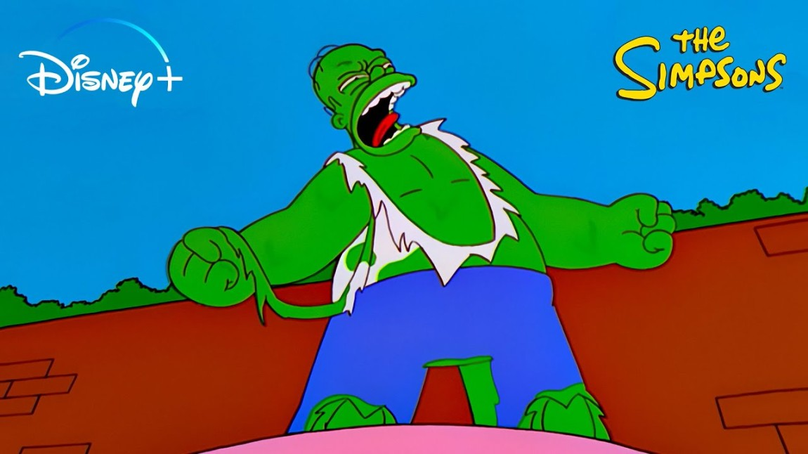 The Simpsons Marvel