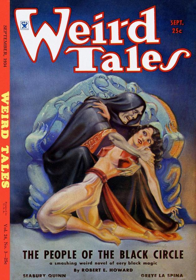 Weird Tales Black Circle