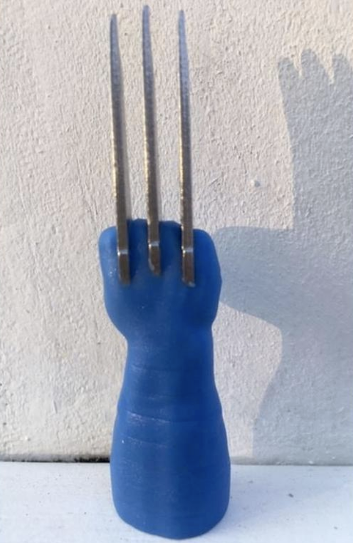 Wolverine Corn on the Claws Cob