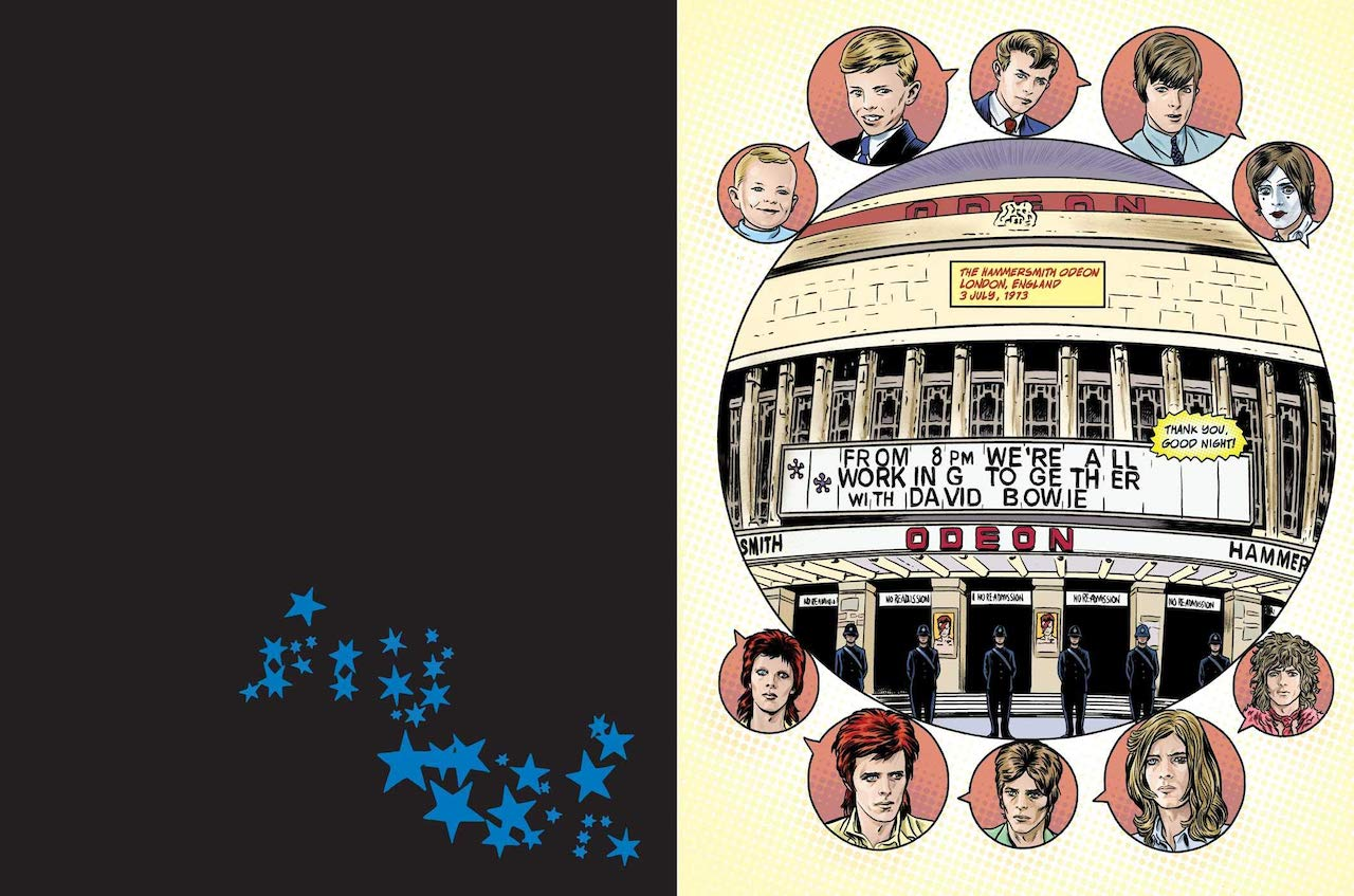 David Bowie Graphic Novel Working Together Odeon