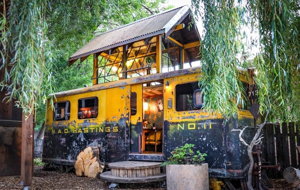 World War II Railroad Car Home