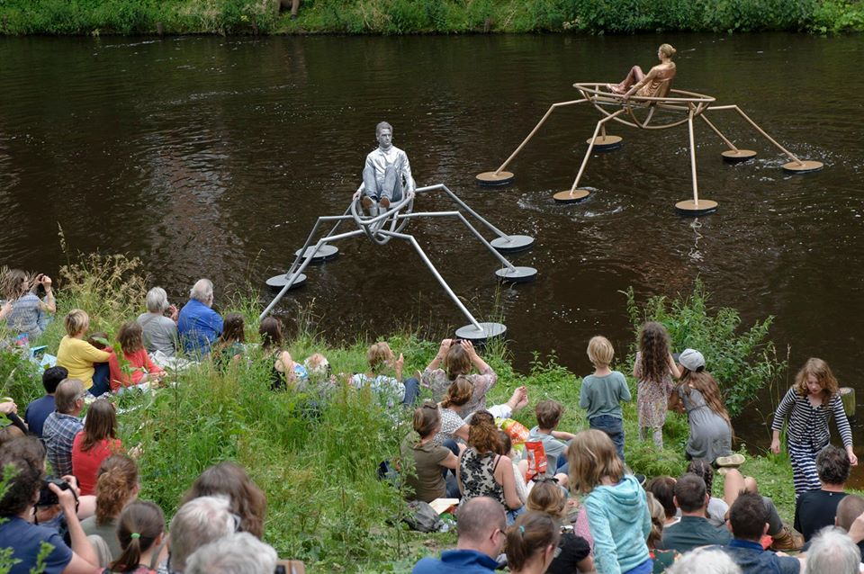 The Bosch Parade, A Floating Artistic Performance in The Netherlands Inspired by Hieronymus Bosch