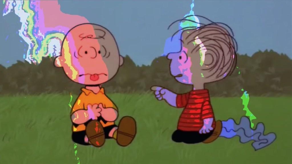 Charlie Brown Pink Floyd