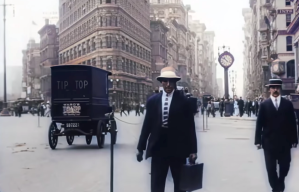 Colorized NYC 1911