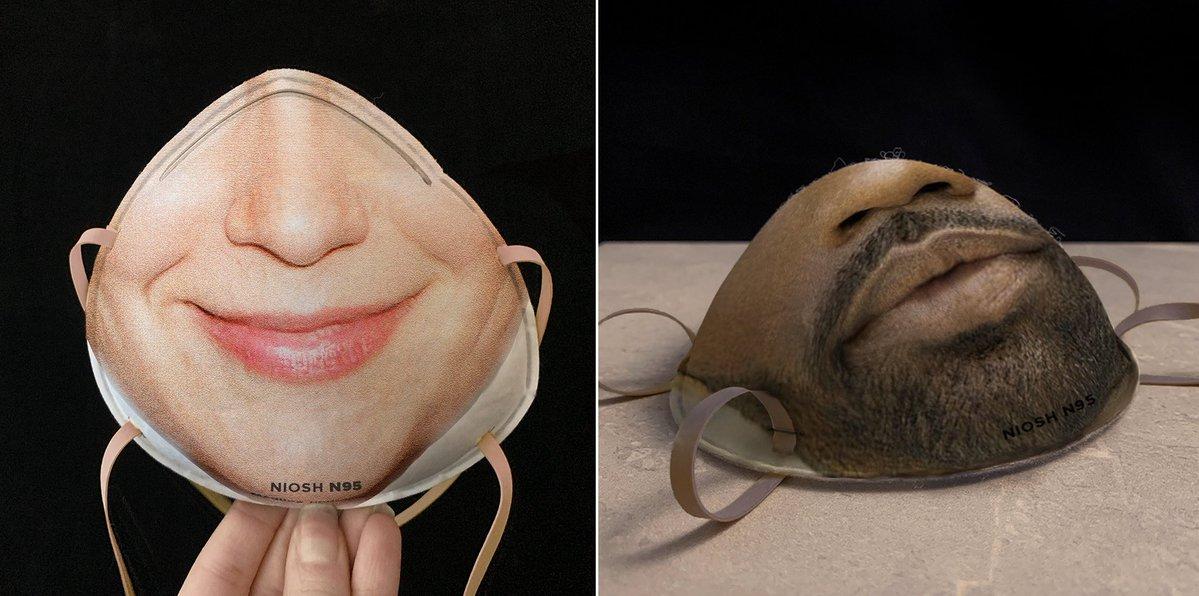 custom respirator mask