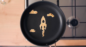 Max Journey to the Moon Pancake Day