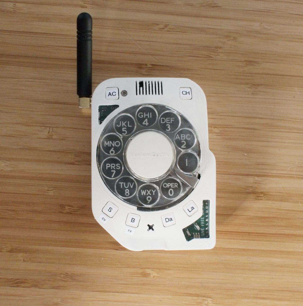 Rotary Cellphone Front
