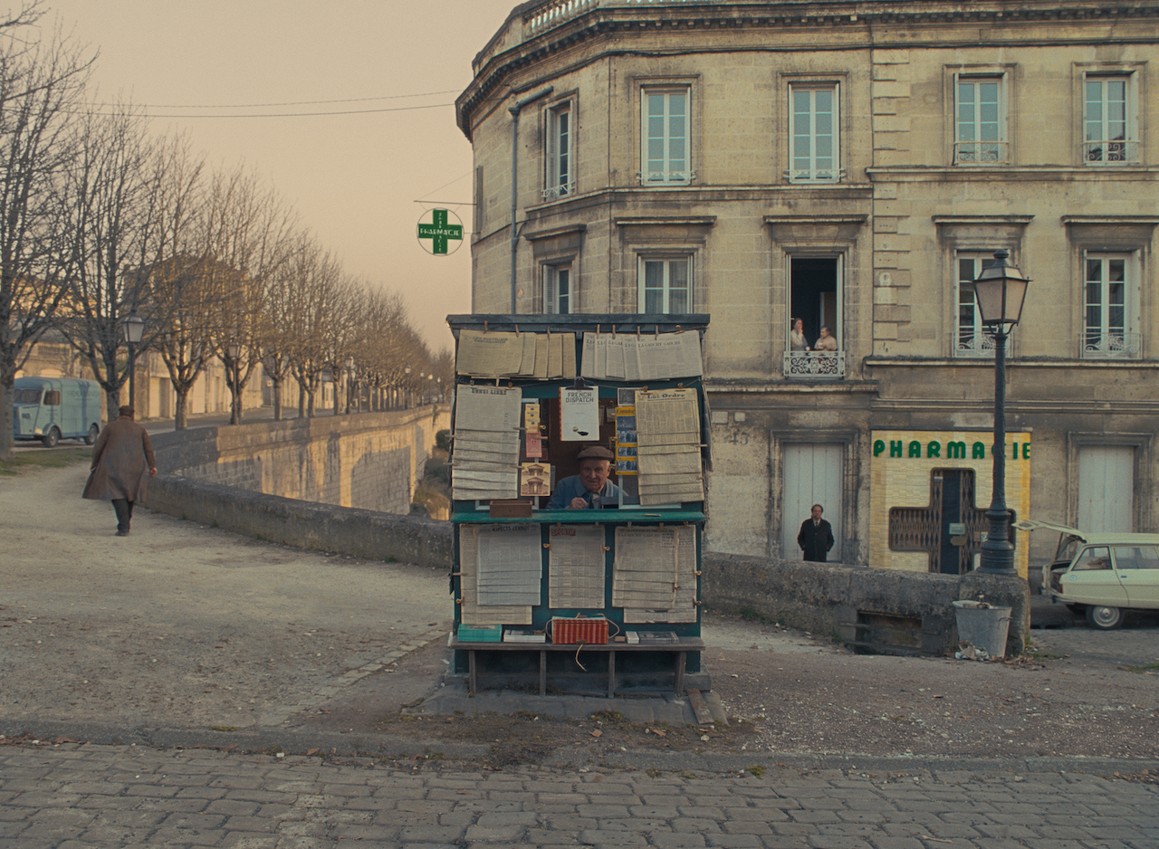 The French Dispatch Newsstand