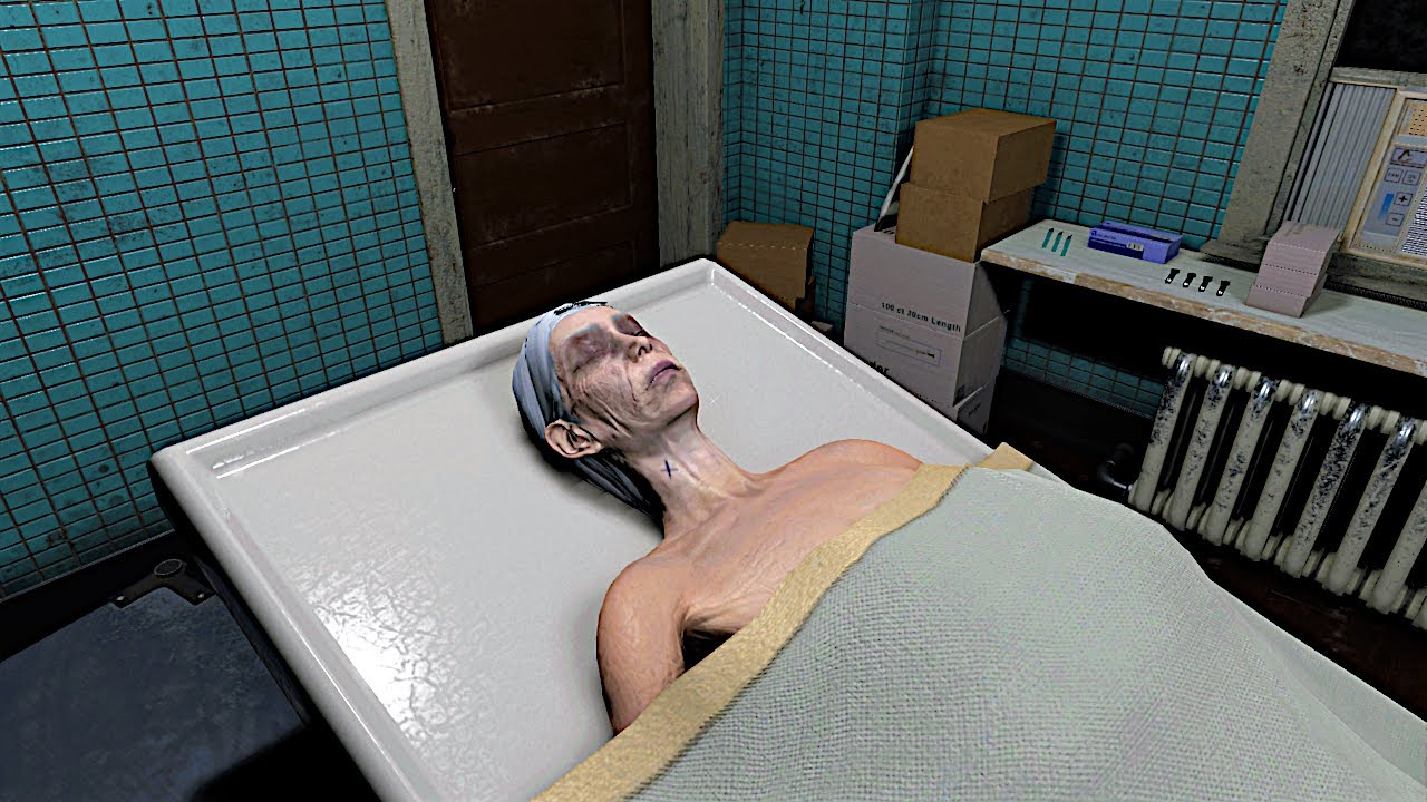 Player Takes Over Embalming a Body When Mortician Is Called Away in 'The Mortuary Assistant' Video Game