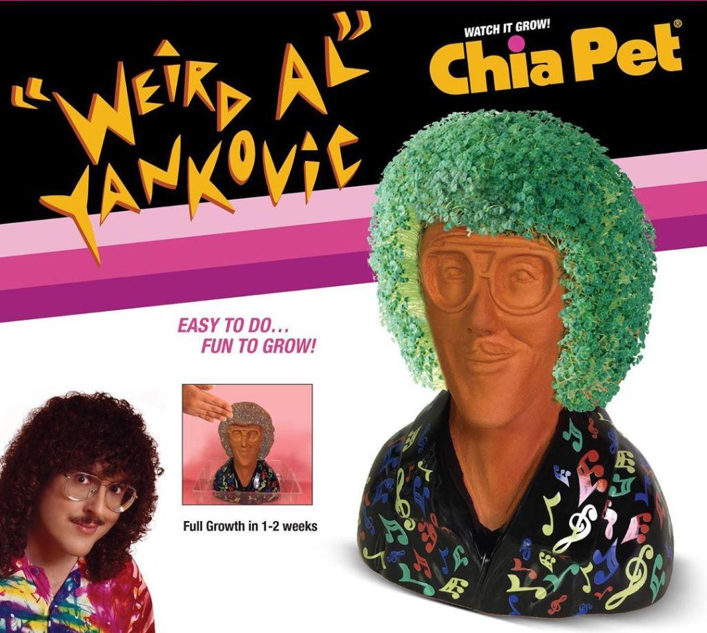 Weird Al Chia Pet