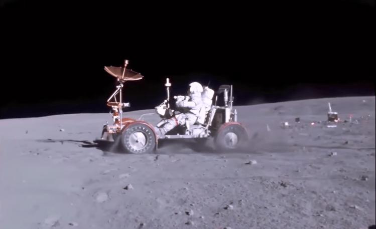 Apollo 16 Lunar Rover Grand Prix Charlie Duke