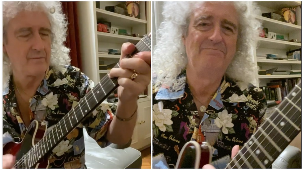 Brian May Virtual Lesson Keep Yourself Alive