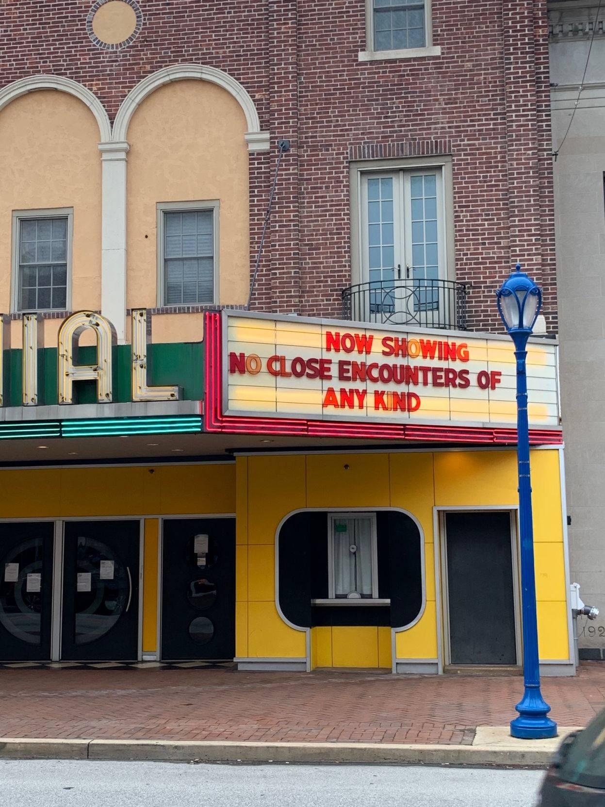 Colonial Theatre No Close Encounters
