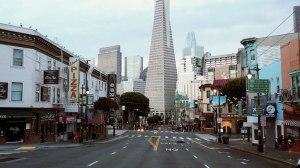 Empty Streets of San Francisco