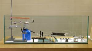 Invisible Glass Rube Goldberg Machine