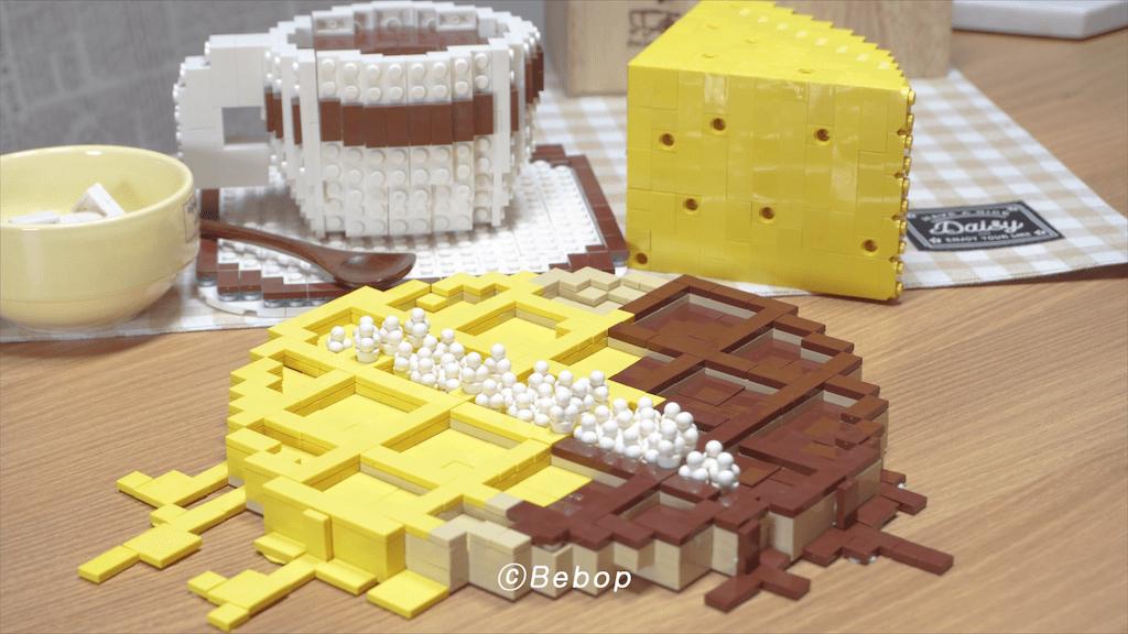 Lego Waffles and coffee