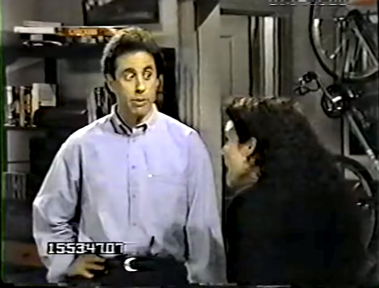 A Hilarious 80 Minute Lost Reel of 'Seinfeld' Bloopers
