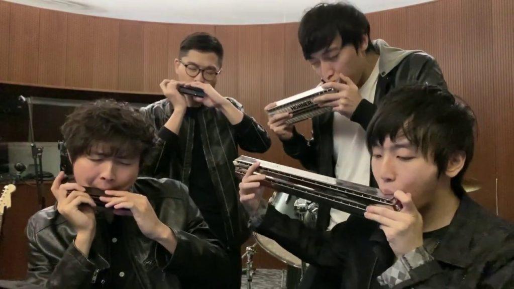 Perfect Fourth Harmonica Quartet Take Five