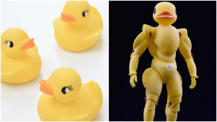 Rubber Ducky Superhero