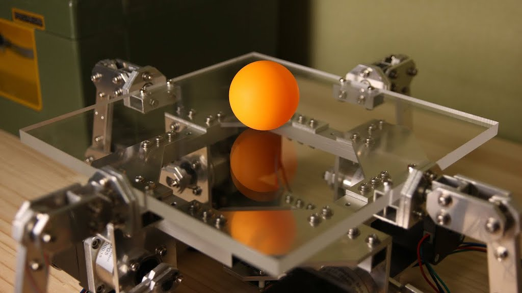 An Arduino Based Ball Juggling Robot That Bounces and Balances Ping Pong Balls With Great Control