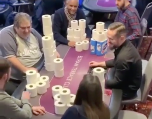 Toilet Paper Poker