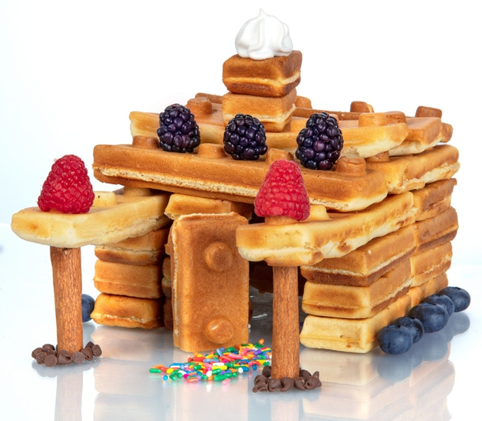 Waffle Brick Castle