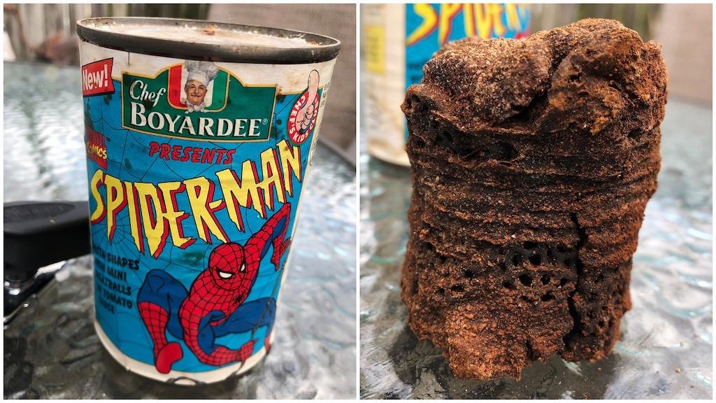 1995 Spider-Man Pasta